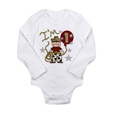 Cute Toddler rocket 1st birthday Long Sleeve Infant Bodysuit