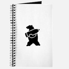 Retro Wojtek The Soldier Bear! Journal