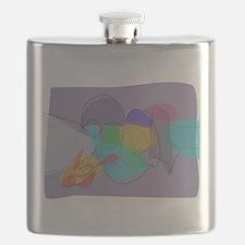 Gray Philosophy Flask