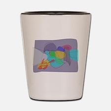Gray Philosophy Shot Glass