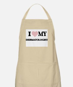 I love my Dermatologist (Heart Made from Wor Apron