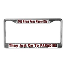 Old Prine Fans License Plate Frame
