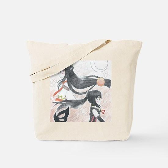 Cute Manga Tote Bag