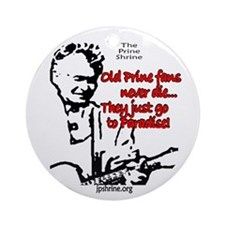 Old Prine Fans Round Ornament