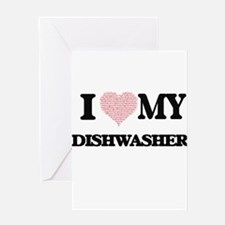 I love my Dishwasher (Heart Made fr Greeting Cards