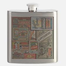 Unique Vivid Flask