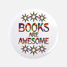 Books Are Awesome Button