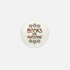Books Are Awesome Mini Button (100 pack)