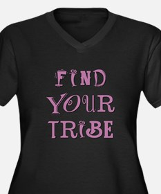 FIND YOUR TRIBE Plus Size T-Shirt