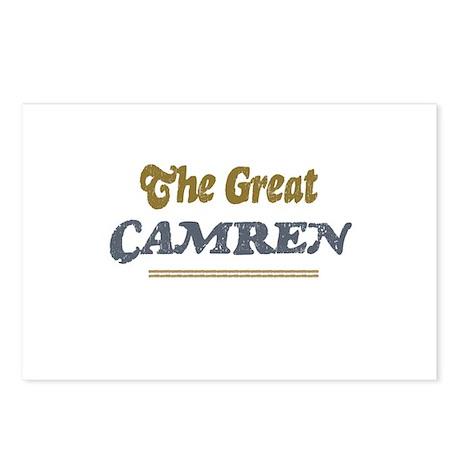 Camren Postcards (Package of 8)