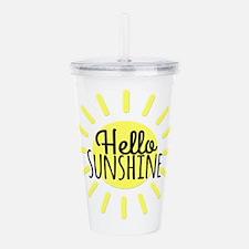 Hello Sunshine Acrylic Double-wall Tumbler