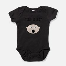 Cute Happy 30th birthday Baby Bodysuit