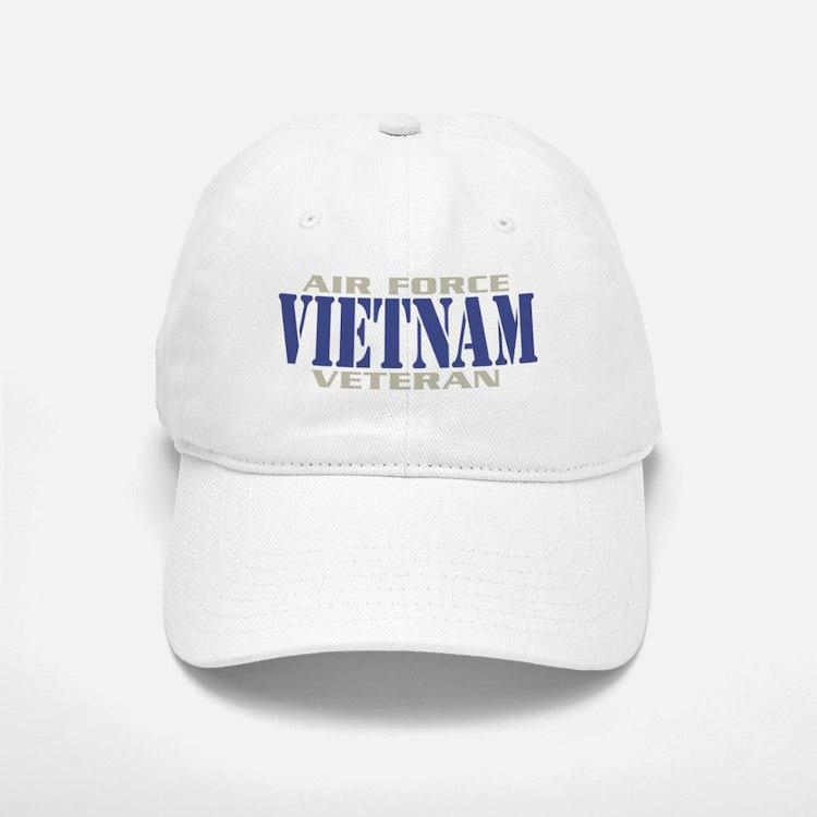 VIETNAM AIR FORCE VETERAN! Baseball Baseball Cap