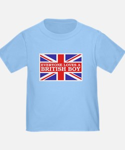 Everyone Loves a British Boy T