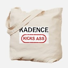 KADENCE kicks ass Tote Bag