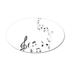 Music for the soul Wall Decal