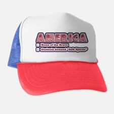 American Safe Spaces Trucker Hat