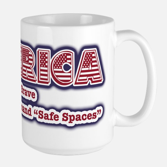 American Safe Spaces Large Mug