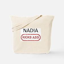 NADIA kicks ass Tote Bag