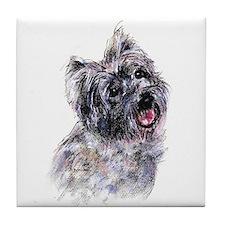 Cairn Terrier 2 Tile Coaster
