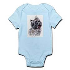 Cairn Terrier 2 Infant Creeper