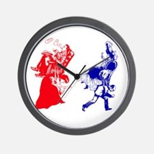 funny victorian marriage Wall Clock