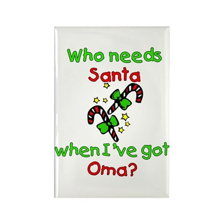 Christmas Rectangle Magnet (100 pack)