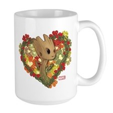 GOTG Baby Groot Valentine Mug