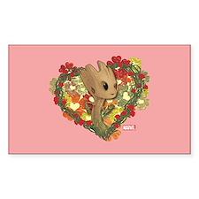 GOTG Baby Groot Valentine Decal