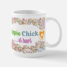 Hippie Chick at Heart Small Small Mug
