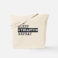 Eat Sleep Gymnastics Repeat Tote Bag