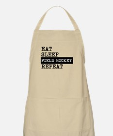 Eat Sleep Field Hockey Repeat Apron