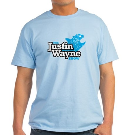 The Justin Wayne Show Men's Light Color T-Shir