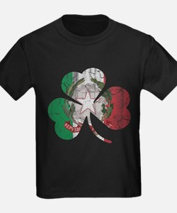 Italian Irish Shamrock T-Shirt