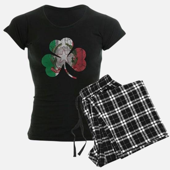 Italian Irish Shamrock Pajamas