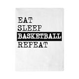 Eat sleep basketball repeat Twin
