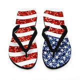 4th of july Flip Flops