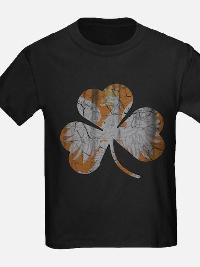 Polish Irish Shamrock T-Shirt