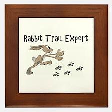 Rabbit Trail Expert Framed Tile