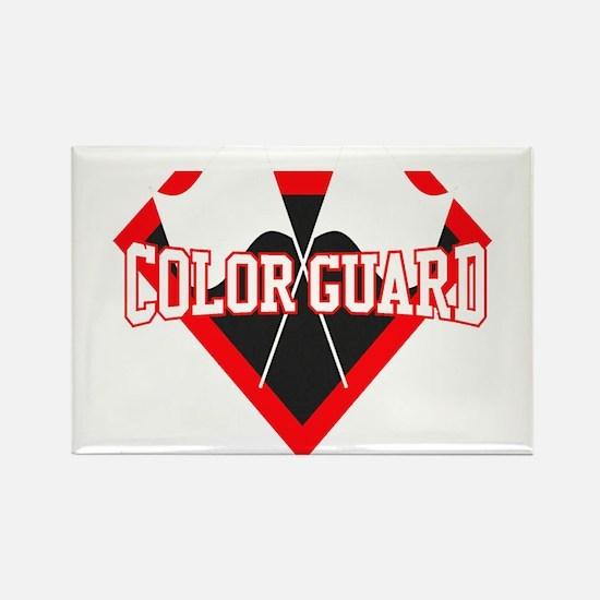 Super Color Guard Rectangle Magnet (100 Magnets