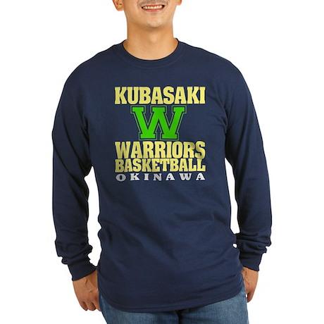 Warriors Basketball Long Sleeve Dark T-Shirt