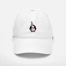 Happy Birthday Penguin Baseball Baseball Cap