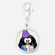 Happy Birthday Penguin Charms