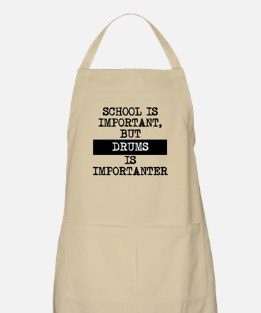 Drums Is Importanter Apron