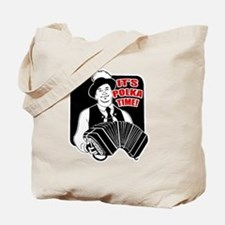 Polka Time Tote Bag