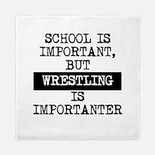 Wrestling Is Importanter Queen Duvet