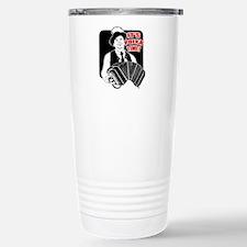 Polka Time Stainless Steel Travel Mug