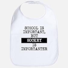 Hockey Is Importanter Bib