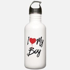 I love my boy Water Bottle