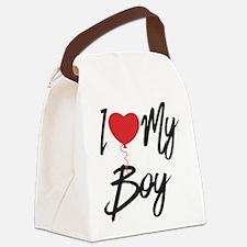 I love my boy Canvas Lunch Bag